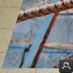 Foto op Tuinposter Omzomen & 4 hoekringen