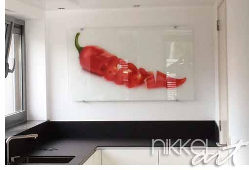 schilderijen op glas van nikkel-art