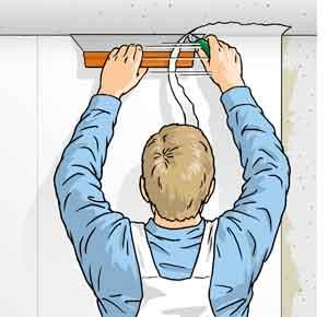 Behangen met vlies fotobehang