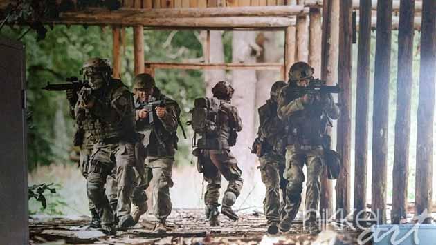 Fotobehang Militair