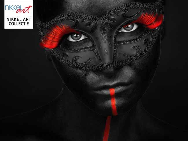 nikkelart collectie zwart gezicht