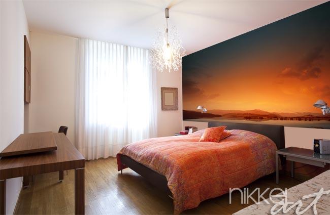 slaapkamer inspiratie natuur : Natuur fotobehang in de slaapkamer ...