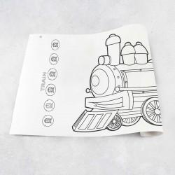 Tekenrol trein