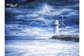 Onweer in zee