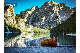 Lake Prags in Italië