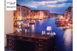 Fotobehang Venetië canal grande