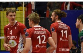 NOLIKO Maaseik lekker verder in de 2018 CEV Volleyball Champions League