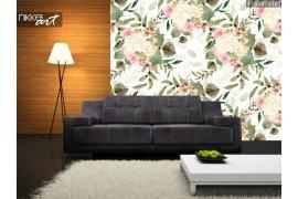 Mooie heldere kleurrijke aquarel patroon met Rose bloemen