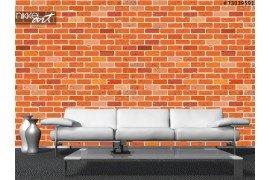 Fotobehang Baksteen muur