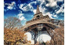 Foto op Canvas Eiffeltoren
