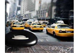Fotobehang New York TAXI