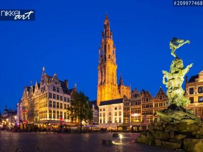 Fotobehang Antwerpen