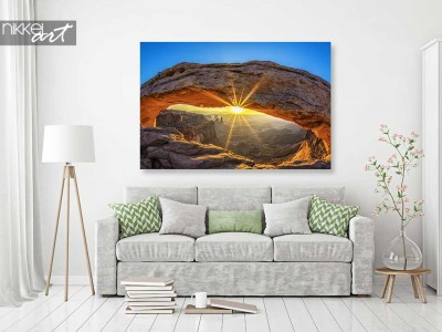 Foto op aluminium canyon