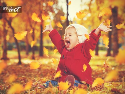 Fotowedstrijd thema Play, laugh, grow in the fall !