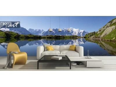 Fotobehang van de Alpen