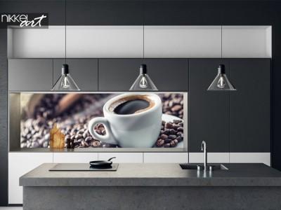 Keuken Foto Achterwand Koffiebonen