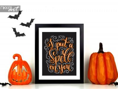Maak je Halloween feestdecor af met deze gruwelijke posters