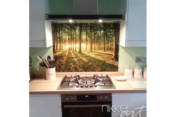 Keuken foto achterwand op maat
