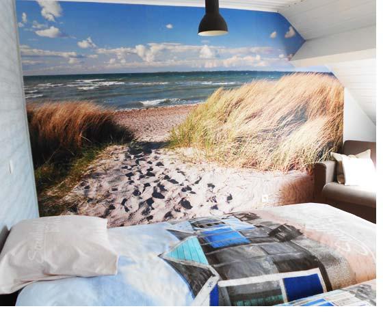 Fotobehang met een vlies-achterzijde