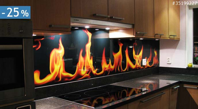 Keuken foto achterwand met 20% korting!   nikkel art.be