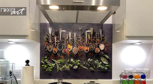 Foto achterwand keuken