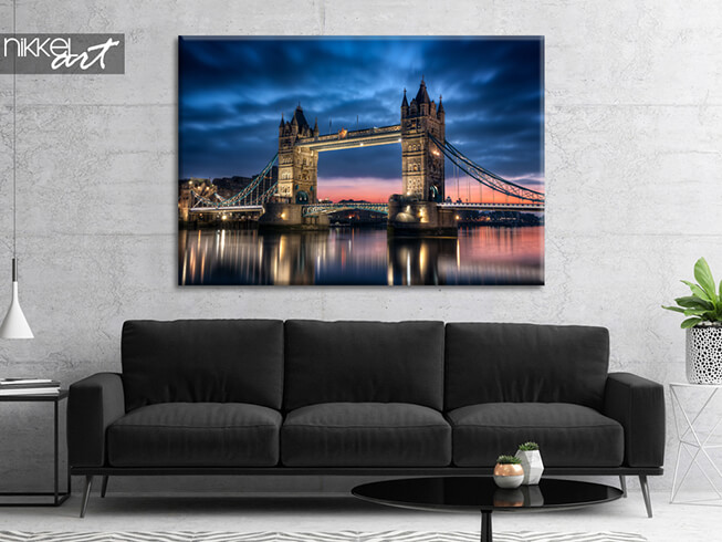 Foto op canvas Tower Bridge In London