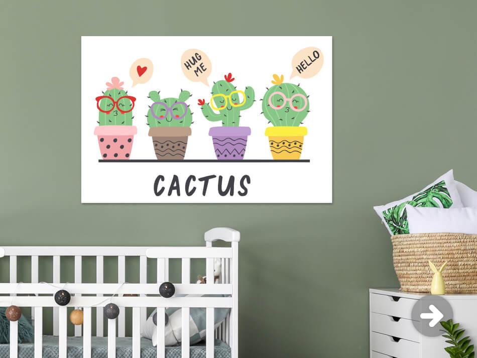 Poster Cactussen