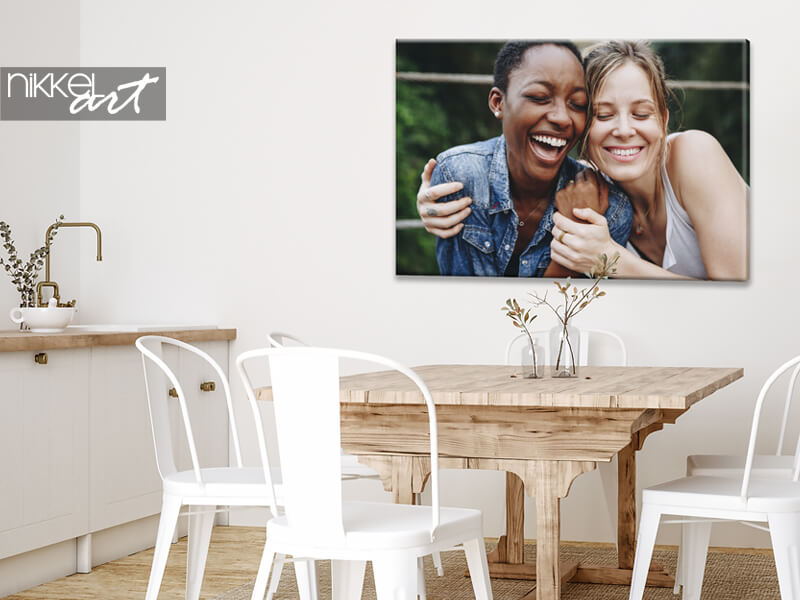 Own Photo on Canvas