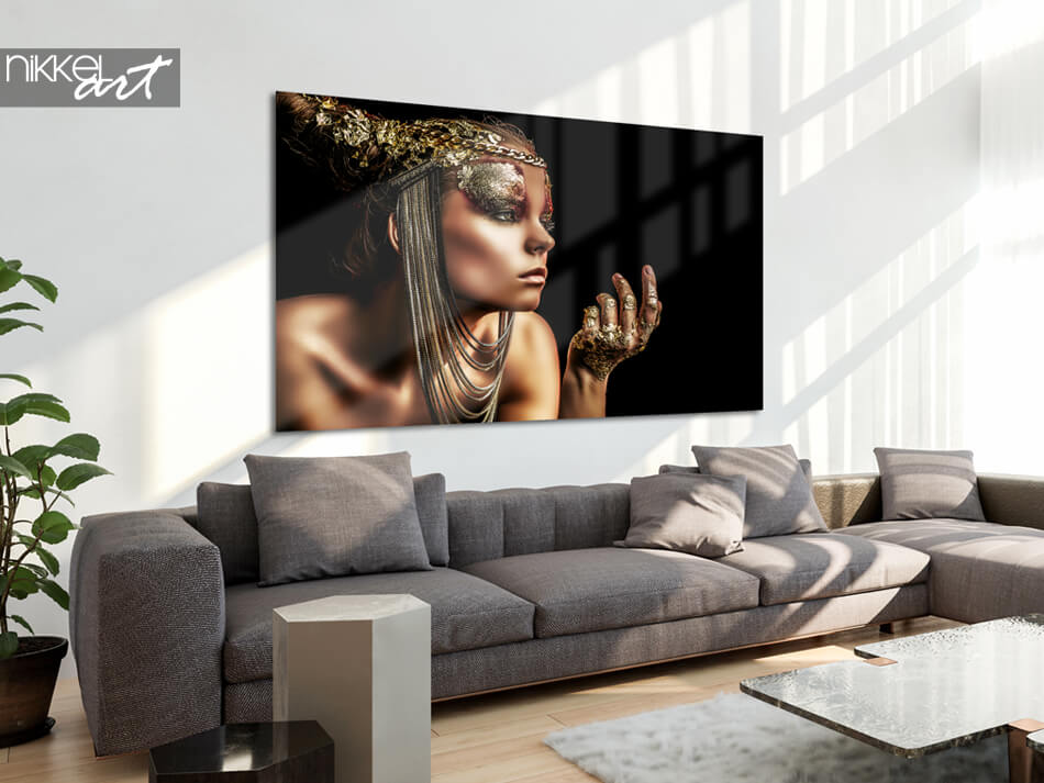 Photo sur Plexiglas Bronze Lady