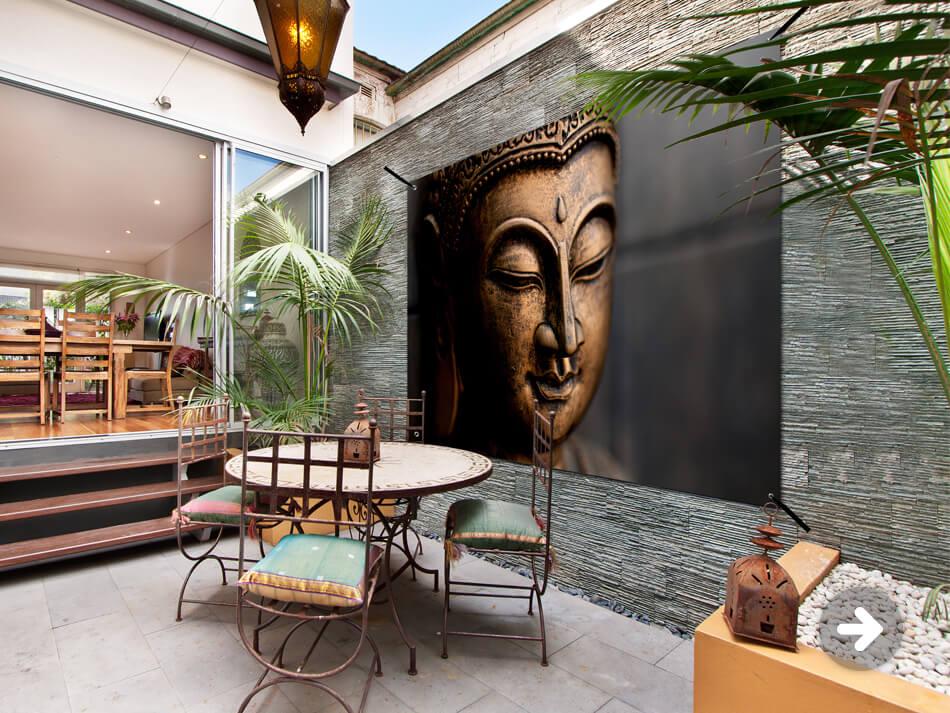 Tuinposter Buddha