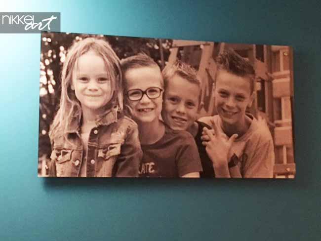 foto op plexiglas kinderen