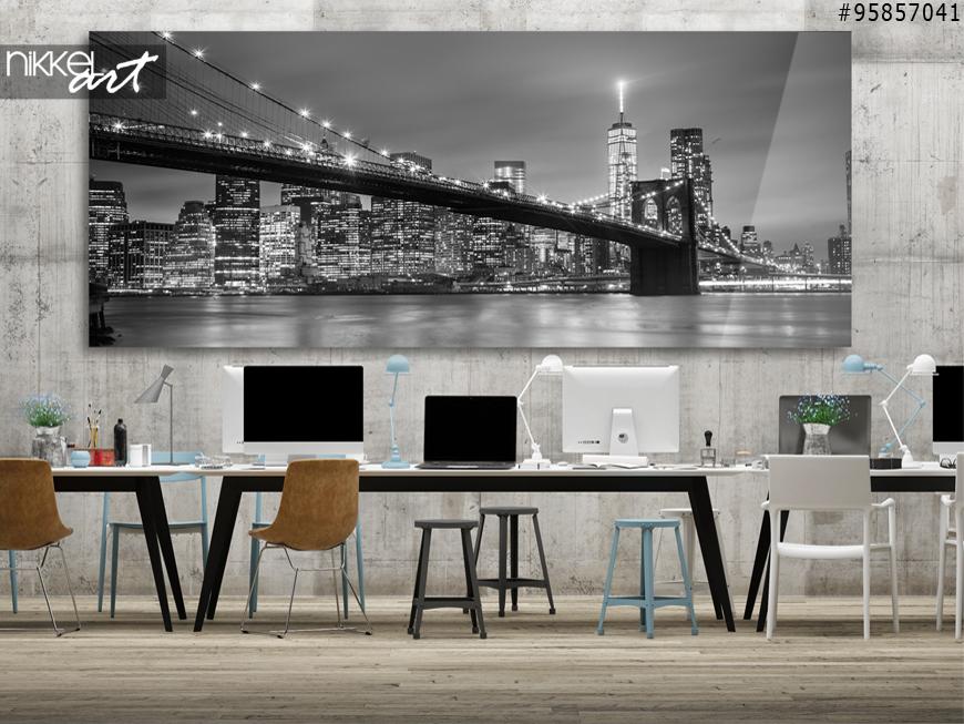 Foto op plexiglas panormafoto new york