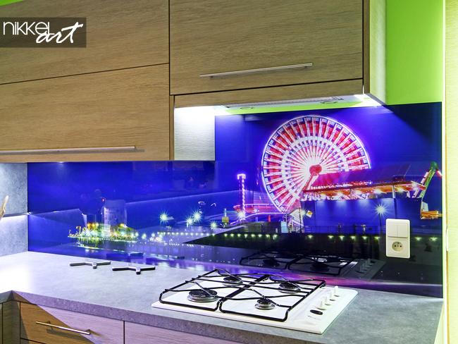 spatscherm keuken