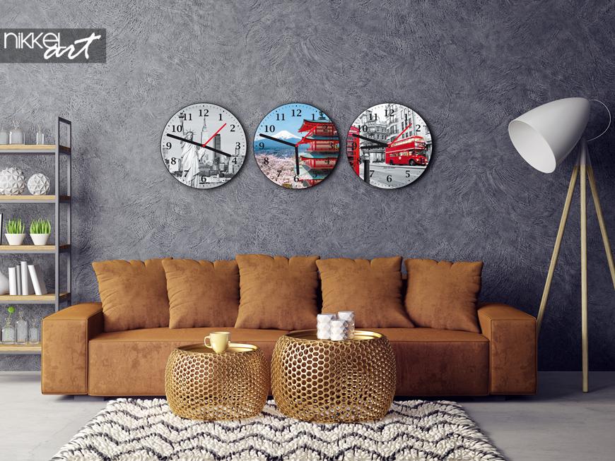 persoonlijke plexiglas klok met foto