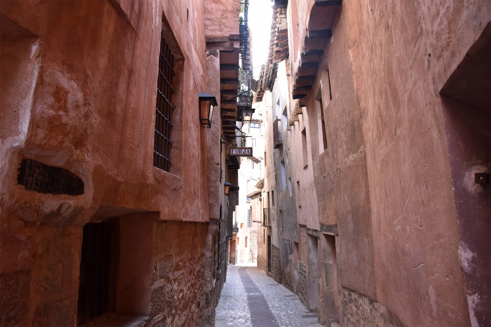A small street in Albarracin