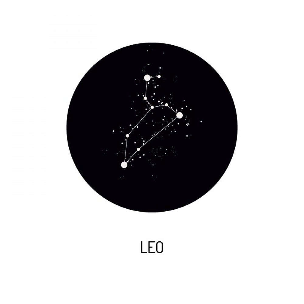 Foto op Aluminium Zodiac Leo