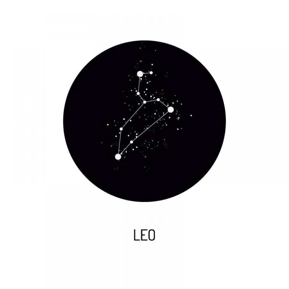 Fotoposter Zodiac Leo