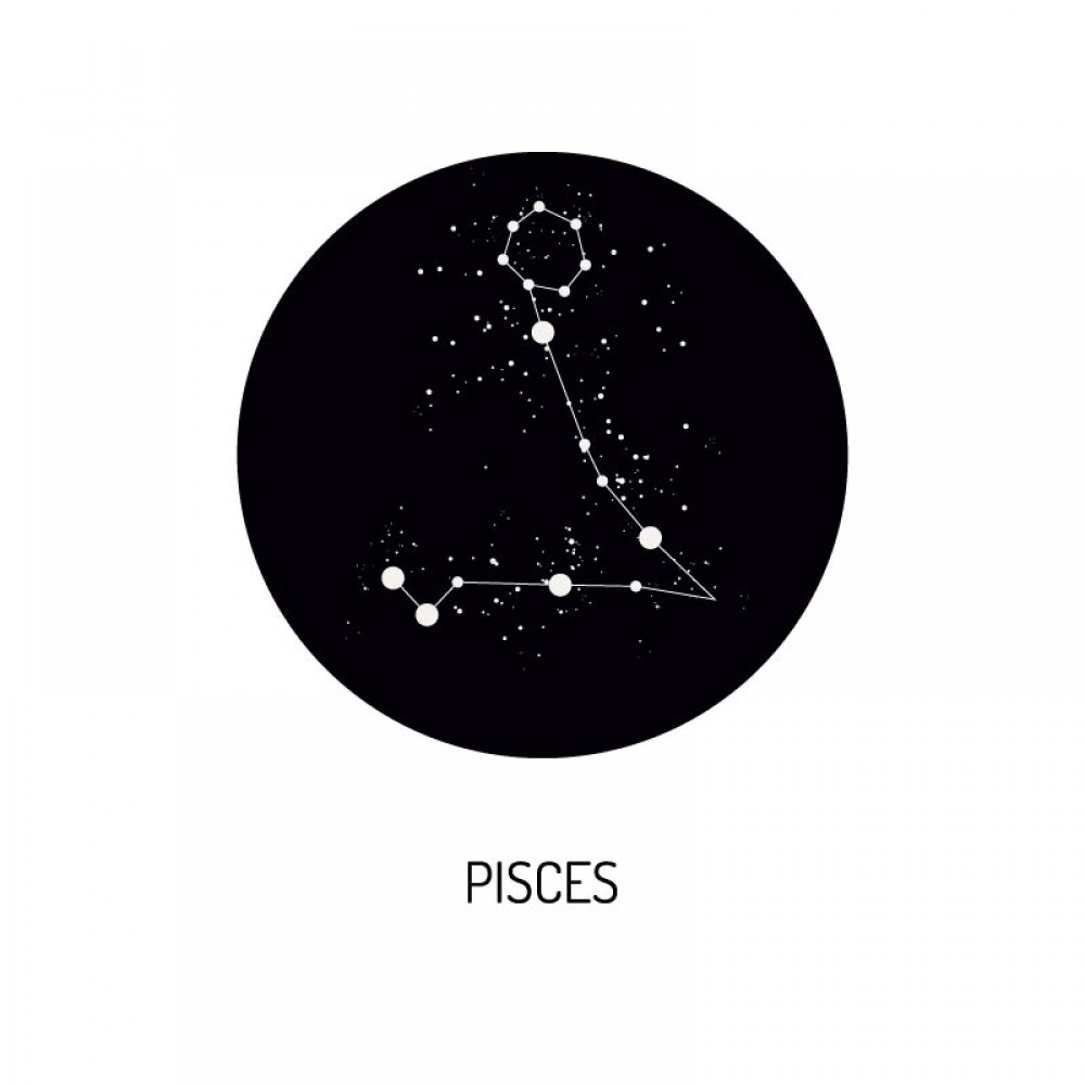 Foto op Aluminium Zodiac Pisces
