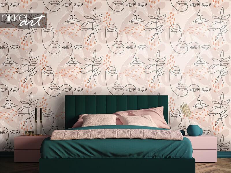 Decoreer je slaapkamer met fotobehang