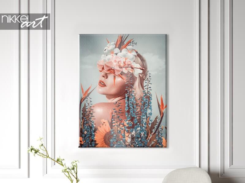 Een foto op canvas is goedkoop én mooi