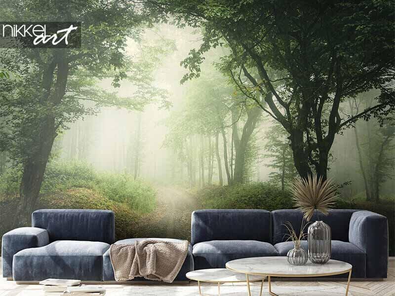 Haal de natuur in huis met landschap fotobehang