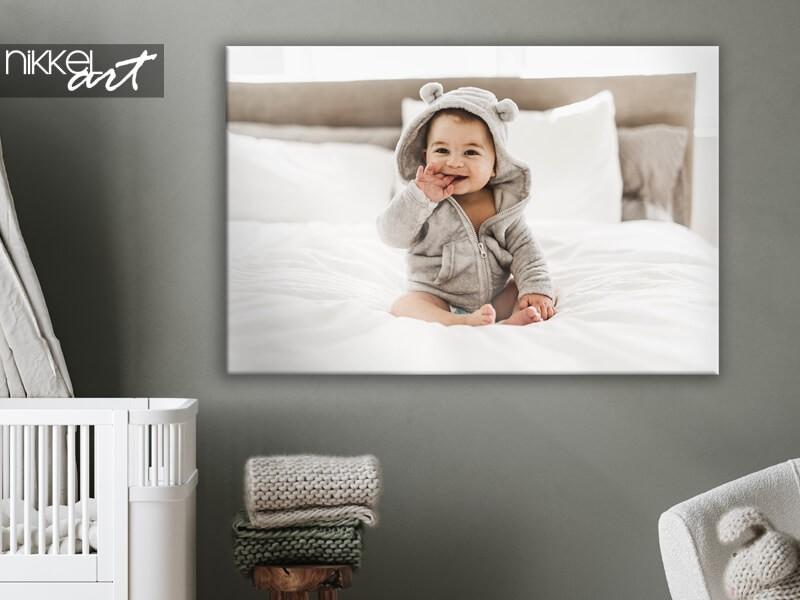 Jouw mooiste baby- en zwangerschapsfoto's op canvas