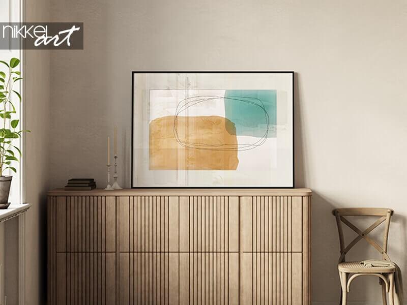 Kunst aan je muur: minimalistische posters