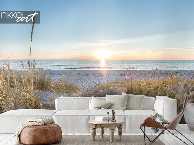 Het ultieme vakantiegevoel: strand fotobehang