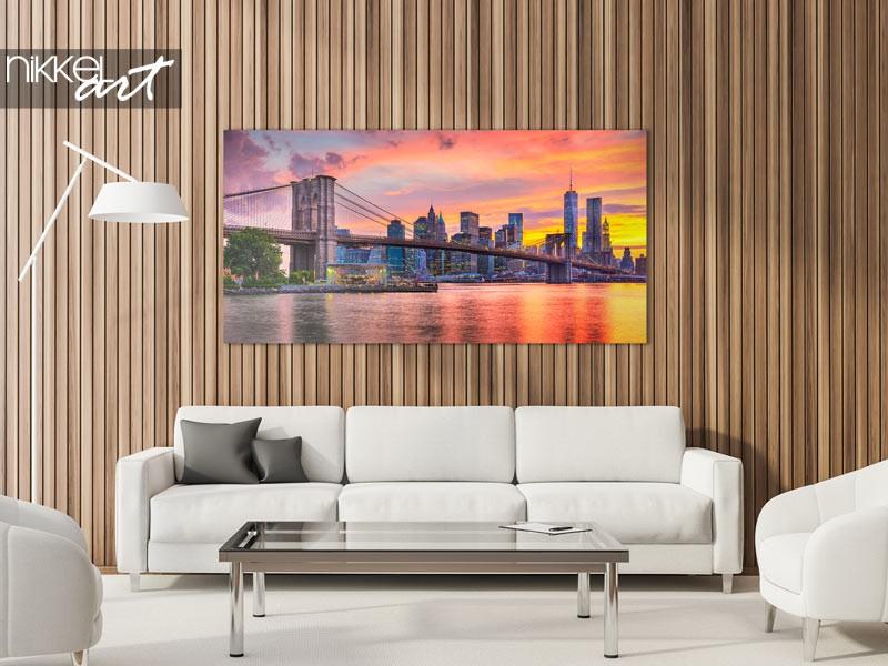 Upgrade jouw interieur: brooklyn bridge foto decoratie