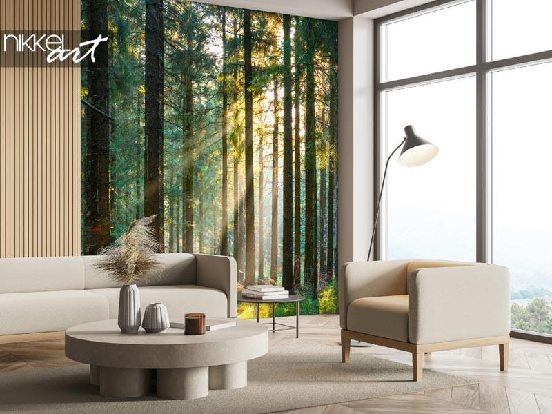 Wanddecoratie met bossen: haal de natuur in huis