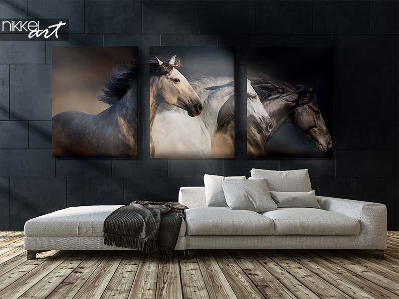 Iets bijzonders aan je muur? Ga voor een drieluik canvas