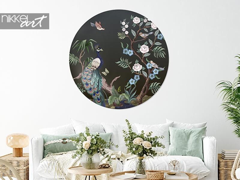 Creatief met wanddecoratie: behangcirkels