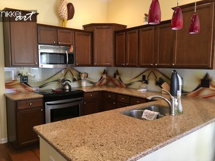 Klantfoto Glazen Keuken Achterwand