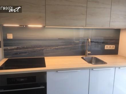 Plexiglazen Keuken Achterwand Zeezicht